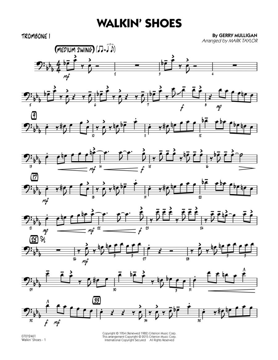 Walkin' Shoes - Trombone 1