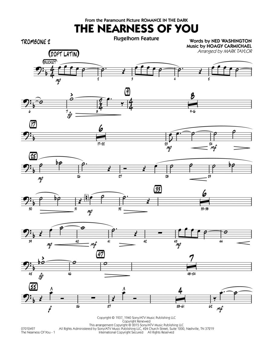 The Nearness of You (Flugelhorn Feature) - Trombone 2