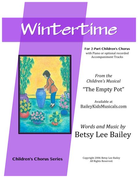 Wintertime for 2-Part Children's Chorus