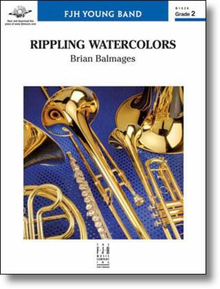 Rippling Watercolors