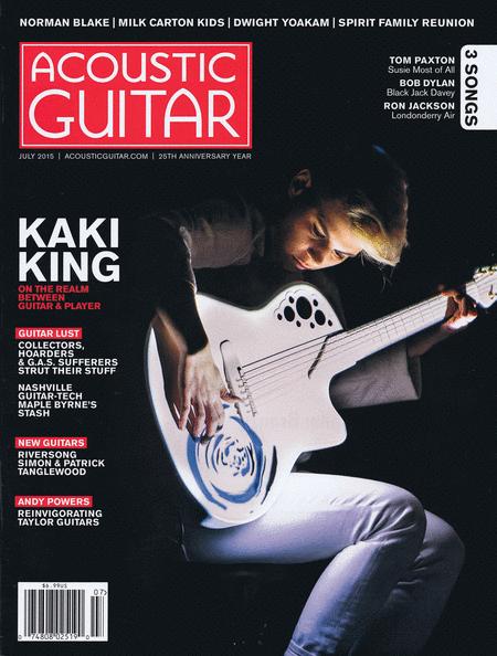 Acoustic Guitar Magazine July 2015