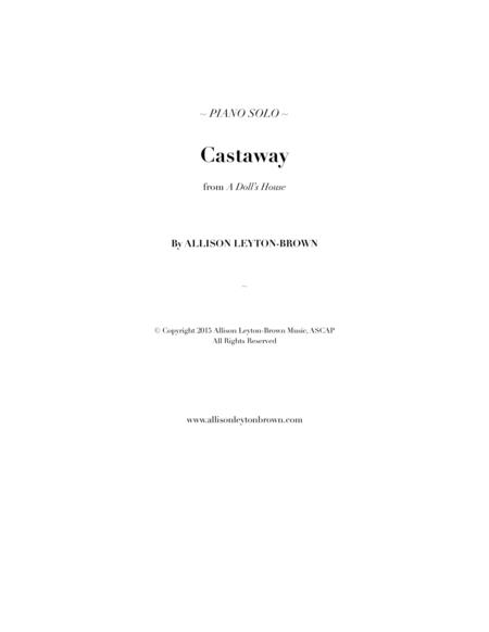Castaway - Evocative Piano Solo - by Allison Leyton-Brown