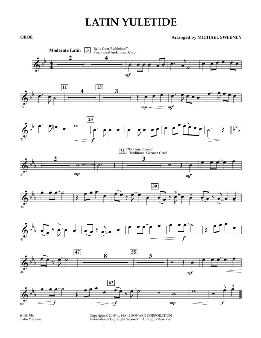 Latin Yuletide - Oboe