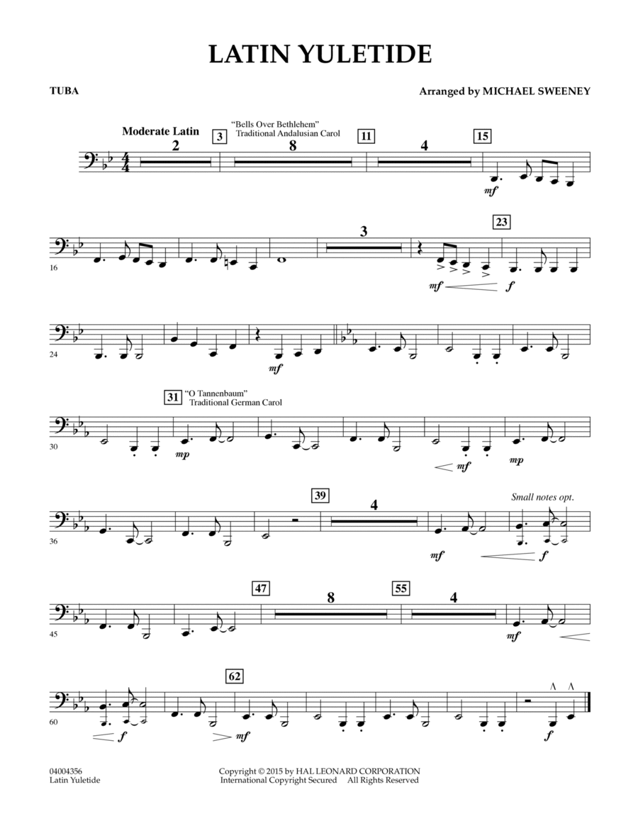 Latin Yuletide - Tuba