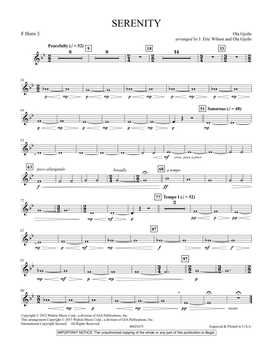 Serenity - F Horn 3