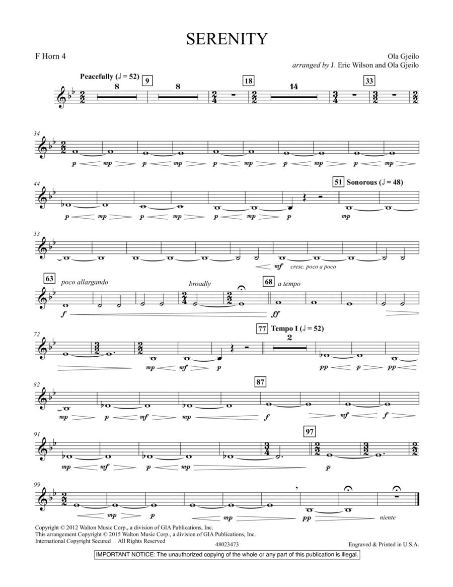 Serenity - F Horn 4
