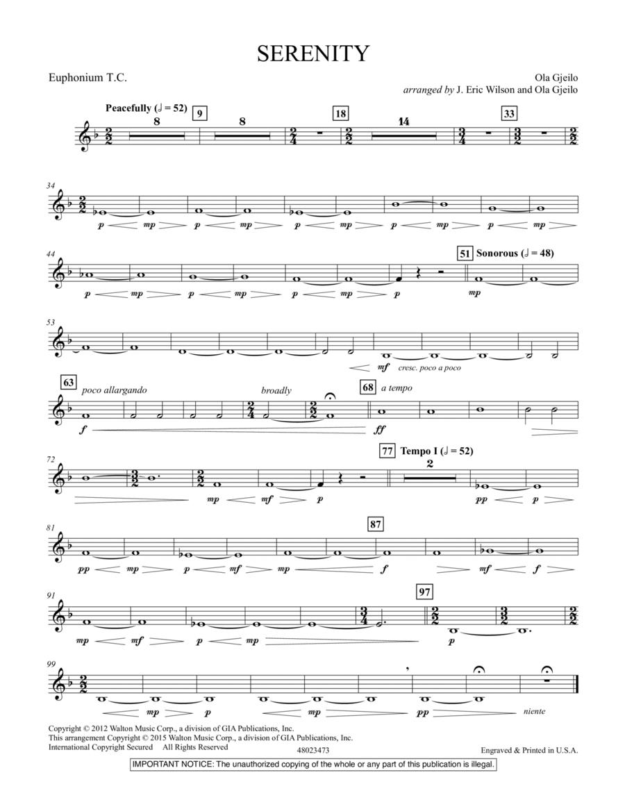 Serenity - Euphonium T.C.