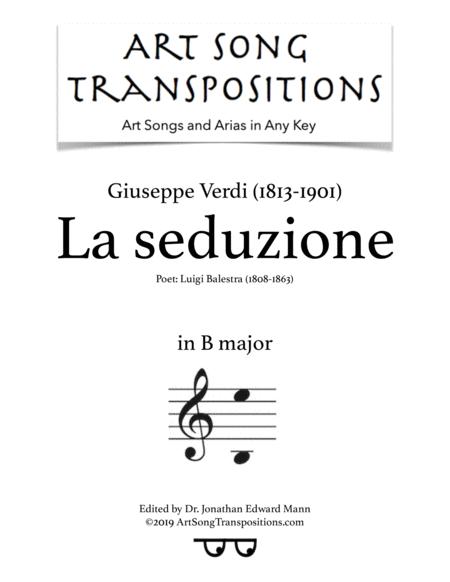 La Seduzione (B major)