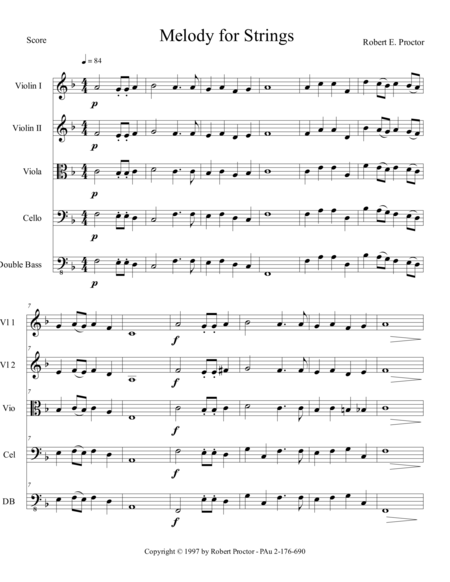 Melody for Strings