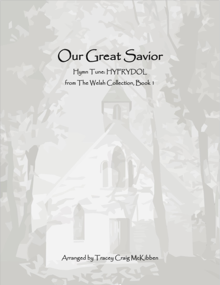 HYFRYDOL: Our Great Savior (Piano Solo)