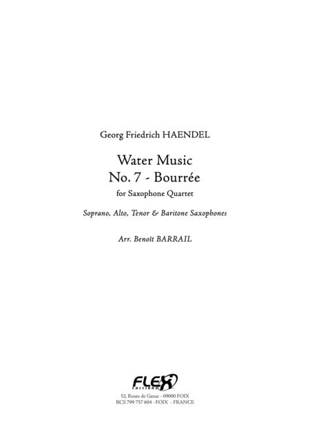 Water Music - No. 7 - Bourree
