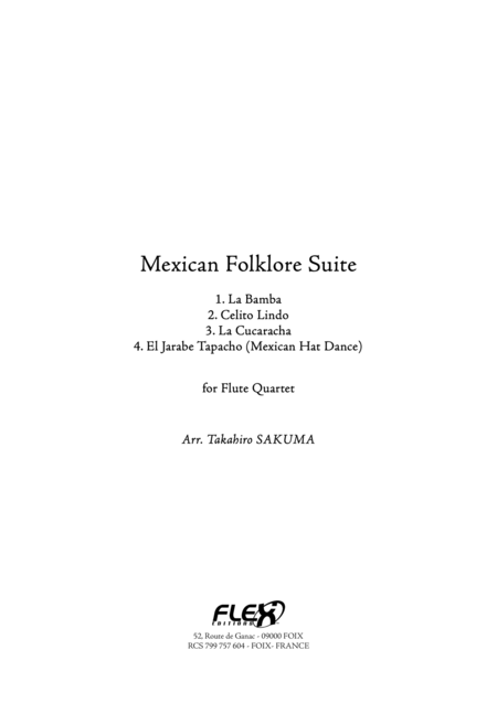 Mexican Folklore Suite