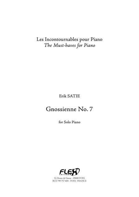 Gnossienne No. 7