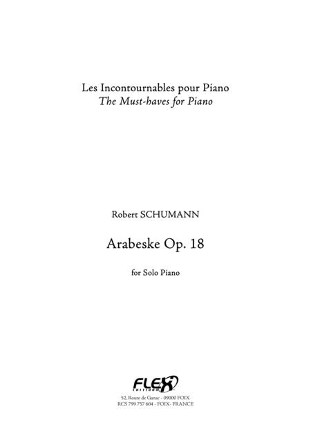 Arabeske Op. 18