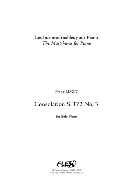 Consolation S. 172 No. 3