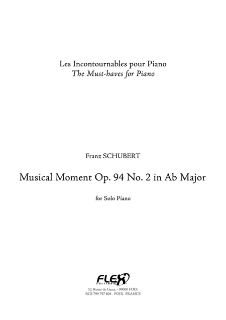 Musical Moment Op.94 No.2