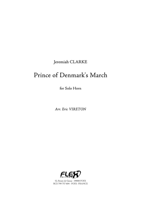 Prince of Denmark's March