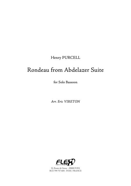 Rondeau from Abdelazer Suite