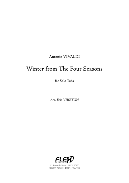 Winter from The Four Seasons