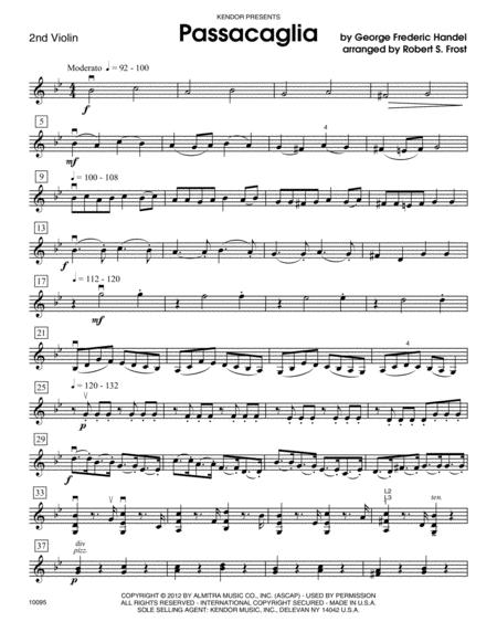 Passacaglia - Violin 2
