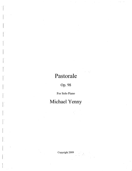 Pastorale, op. 98