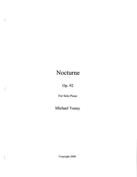 Nocturne, op. 92