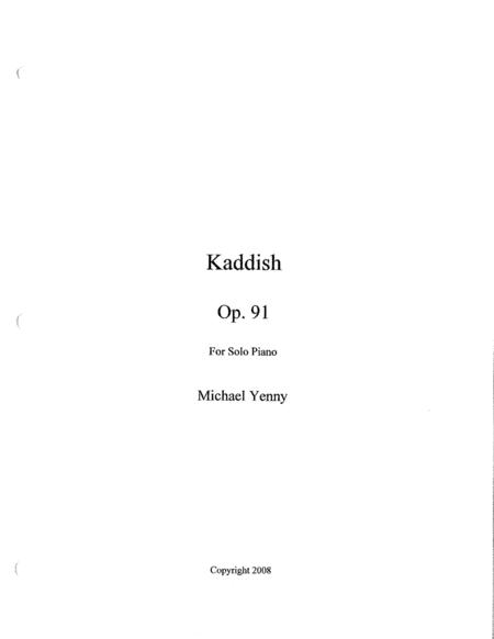 Kaddish, op. 91