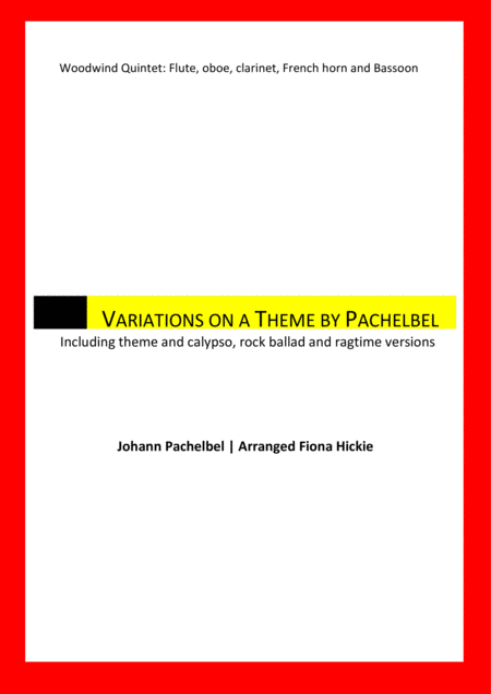 Variations on a Theme by Pachebel
