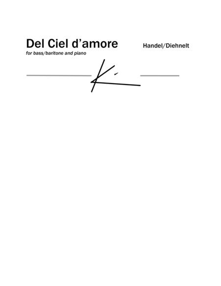 Handel: Del Ciel d'amore