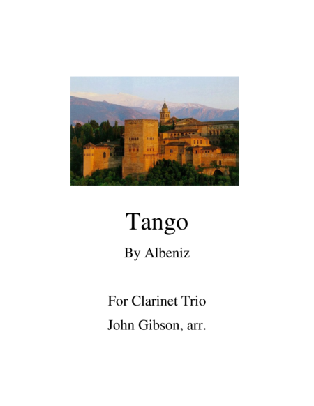 Tango for Clarinet Trio