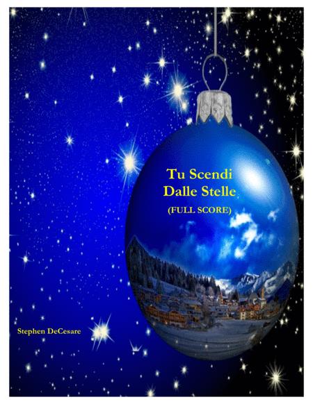 Tu Scendi Dalle Stelle (Full Score)