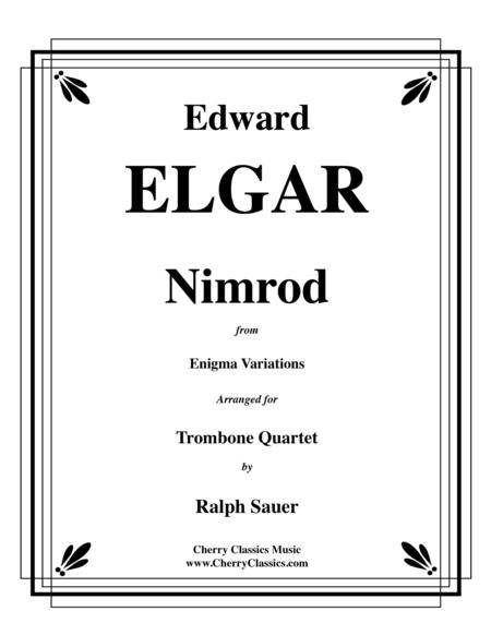Nimrod from the Engima Variations for Trombone Quartet