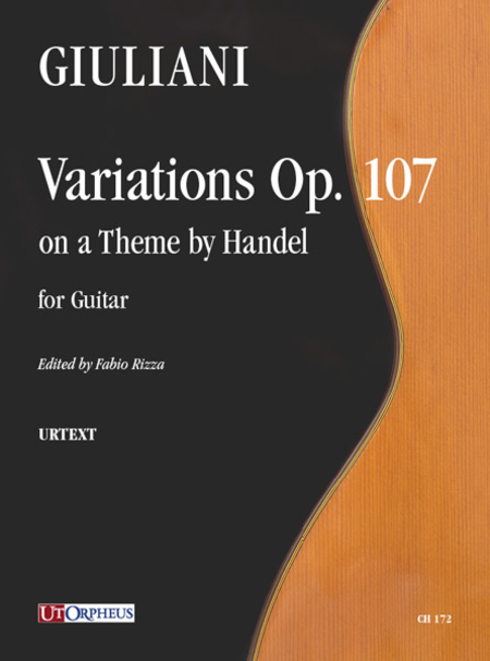 Variations Op. 107 on a Theme by Handel for Guitar