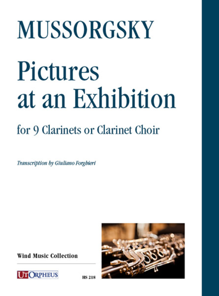 Pictures at an Exhibition for 9 Clarinets or Clarinet Choir