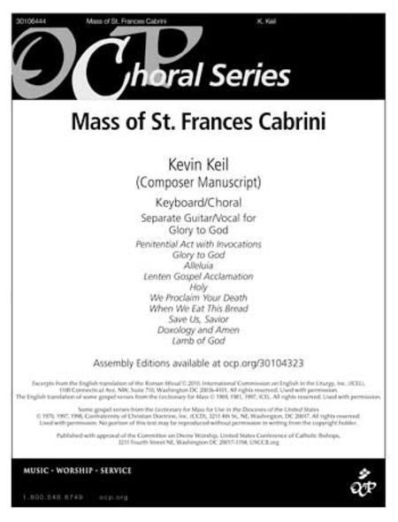Mass of St Frances Cabrini