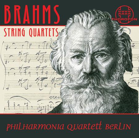 Johannes brahms die streichquartetten sheet music by philharmonia