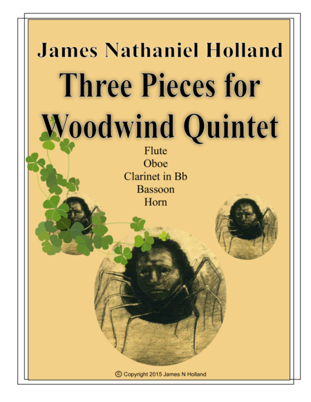 Three Pieces for Woodwind Quintet
