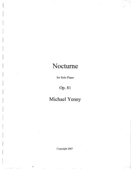Nocturne, op. 81