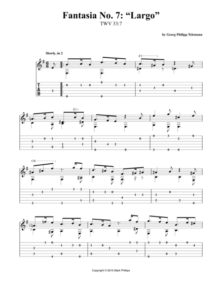 "Fantasia No. 7: ""Largo"""