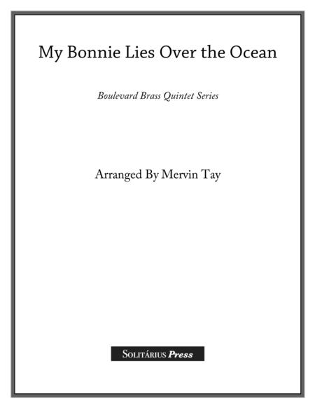 My Bonnie Lies Over the Ocean