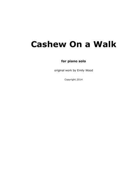 Cashew On a Walk