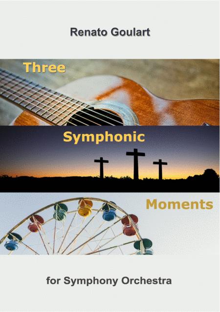 Three Symphonic Moments - Full Score