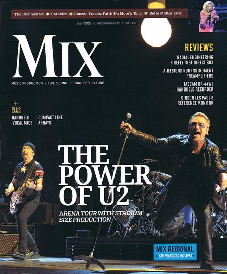 Mix Magazine July 2015