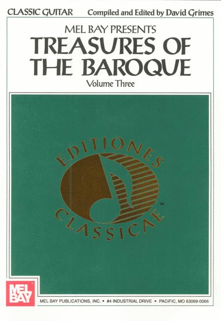 Treasures of the Baroque Volume Three