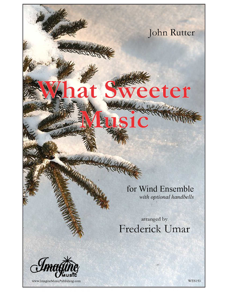 What sweeter music rutter