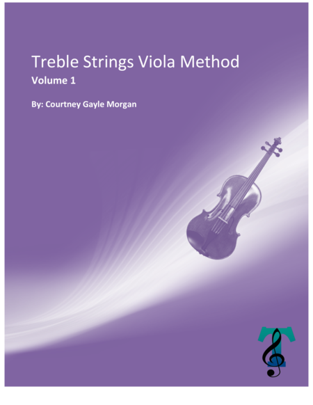 TREBLE STRINGS VIOLA METHOD (Volume 1)