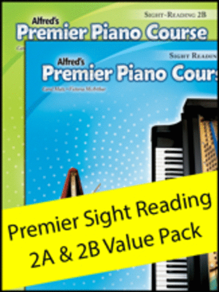Premier Piano Course Sight Reading 2A & 2B (Value Pack)