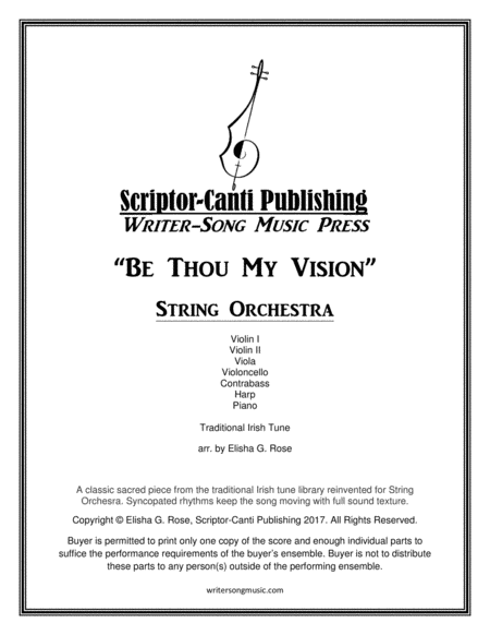 Be Thou My Vision - String Orchestra