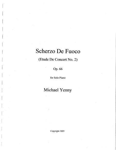 Scherzo de Fuoco, op. 66
