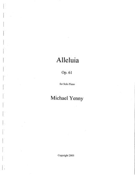 Alleluia, op. 61